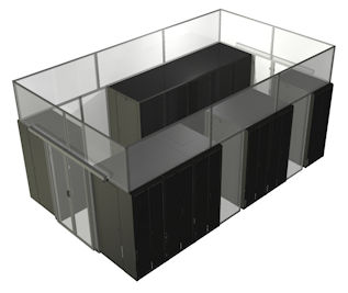 above cabinet rigid containment wall
