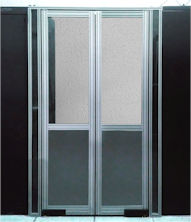 Double Pivot Rigid Door