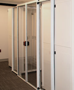 Double sliding door