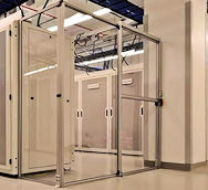 data center door - single sliding