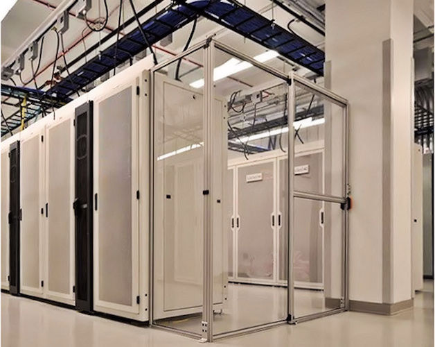 rigid data center containment